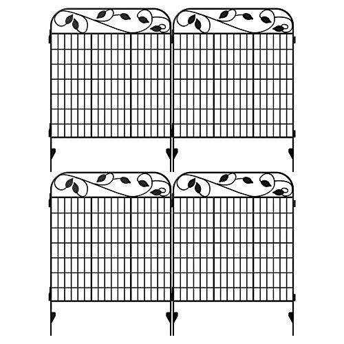 Amagabeli Metal Garden Fence Border 44