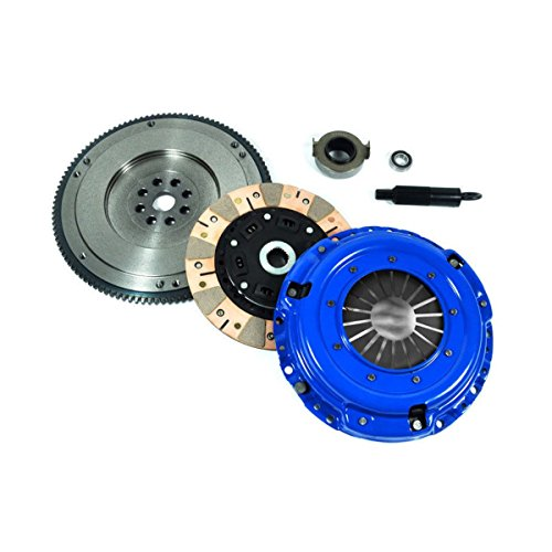 EF DUAL-FRICTION CLUTCH KIT+FLYWHEEL for 94-01 ACURA INTEGRA RS LS GS GSR TYPE-R
