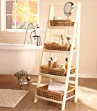 Ladder Shelf (Antique White)
