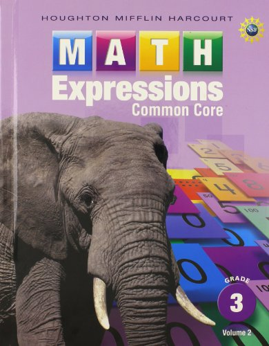 Math Expressions: Student Activity Book, Volume 2 (Hardcover) Grade 3