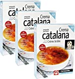 Creme Brulee Mix Crema Catalana 10 Servings. Imported from Spain Pack of 3