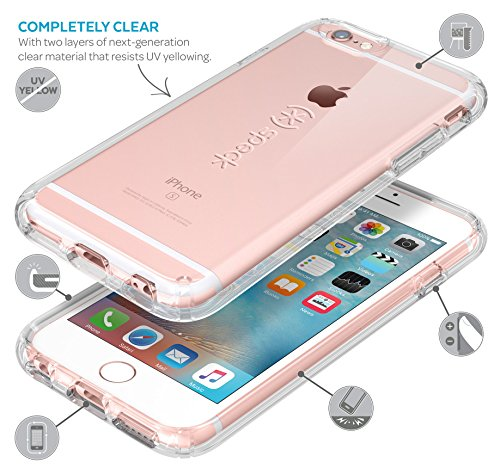 online store e3d1a d1a9e Speck Products CandyShell Case, iPhone 6s Case, iPhone 6 Case, Clear