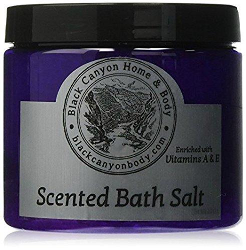 Black Canyon Tahitian Twist Hemp Seed Oil Bath Sea Salts, 5 Oz