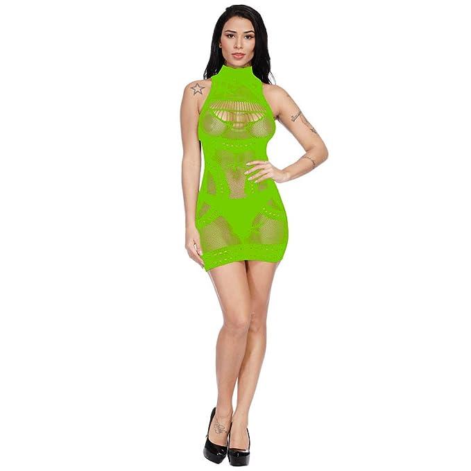 Valentine Best Gift!!! Beisoug Mujeres Sexy Calado Transparente Ligue Perspectiva Ropa de Dormir Bodycon Falda: Amazon.es: Hogar