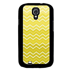 diy phone caseCool Painting Yellow Ombre Chevron Samsung Galaxy S4 I9500 Case Fits Samsung Galaxy S4 I9500diy phone case