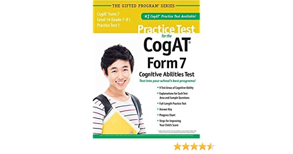 Practice Test for the CogAT® Form 7 Level 14 (Grade 7-8*) Practice ...