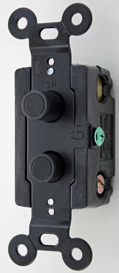 Classic Accents Three Way Black Button Antique Push Button Light Switch Amazon Com