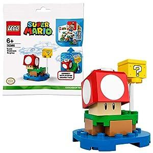 LEGO Mario Sorpresa del Super Fungo-Pack di Espansione Gioco 71360, Giocattolo, Set di Costruzioni, 30385 LEGO