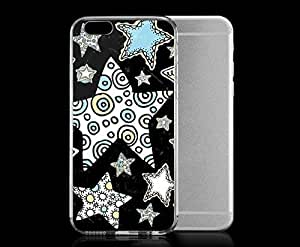 Light weight with strong PC plastic case for iPhone 4 4s Art Illustration Art Star Bright