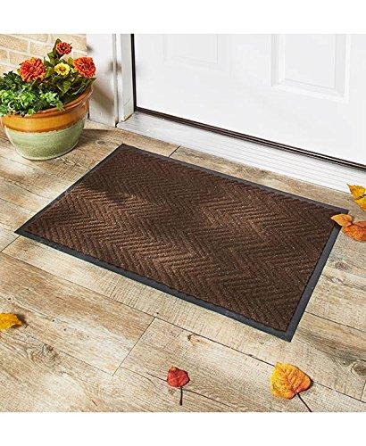 Indoor/Outdoor Utility Brown Mat