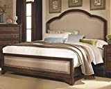 Coaster 203261KE Laughton Cocoa Brown Casual E King Upholstered Bed Review