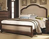 Coaster 203261KE Laughton Cocoa Brown Casual E King Upholstered Bed
