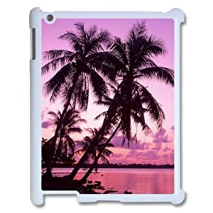 Sunset Palm Tree Ipad 1/2/3/4 Case New Style Durable snap on Palm Tree iPad cover