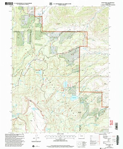 Sand Point CO topo map, 1:24000 scale, 7.5 X 7.5 Minute, Historical, 2000, updated 2004, 26.8 x 22.1 IN - - Outlet Colorado Mills