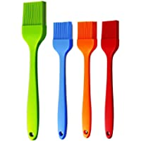 Basting Brush Silicone Pastry Baking Brush BBQ Sauce Marinade Meat Glazing Oil Brush Heat Resistant , Kitchen Cooking…