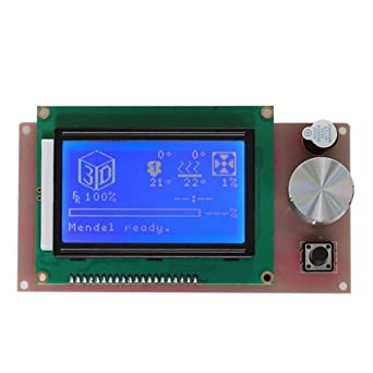 Prosperveil Pantalla LCD del módulo impresora 3D LCD 128x64 ...