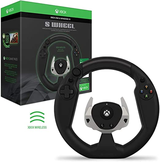 Wireless Racing Wheel for Xbox One/PC - Hyperkin: Amazon.es ...