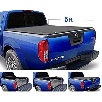 Tonno Pro LR-4005 LoRoll Rollup Tonneau Cover Fits 05-19 Frontier