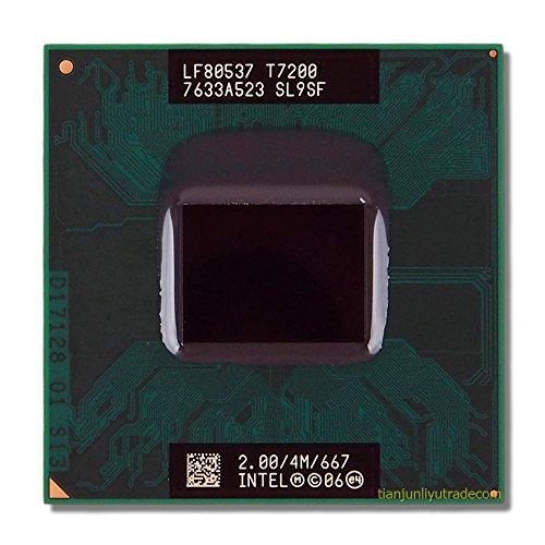 Intel Cpu Pentium Mobile T7200 2.0Ghz Fsb667Mhz 4Mb Fcpga6 Core 2 Duo Tray