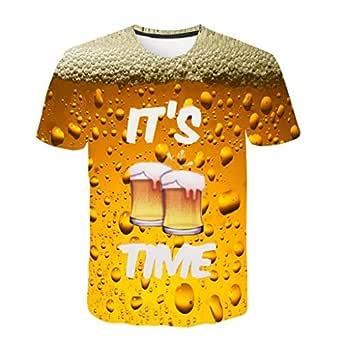 Unisex 3D Camisa del Oktoberfest Camiseta Bávara para Hombre ...