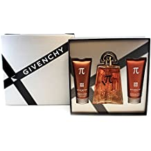 Givenchy PI by Givenchy for Men 3 Piece Gift Set Includes: 3.3 oz Eau de Toilette Spray + 2.5 oz After Shave + 2.5 oz All Over Shampoo