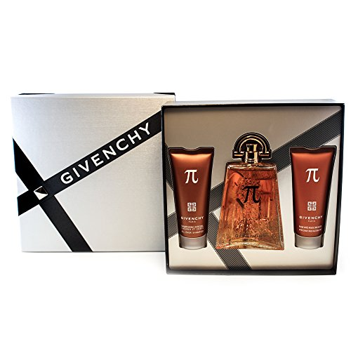 - Givenchy PI by Givenchy for Men 3 Piece Gift Set Includes: 3.3 oz Eau de Toilette Spray + 2.5 oz After Shave + 2.5 oz All Over Shampoo