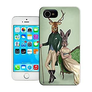 Unique Phone Case Mr Deer and Mrs Rabbit Poster Hard For Case Samsung Galaxy S3 I9300 Cover cases-buythecase