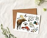 Woodland Animals - Card