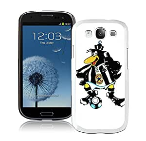 Unique Custom Designed Cover Case For Samsung Galaxy S3 I9300 With New Castle United White Phone Case 18