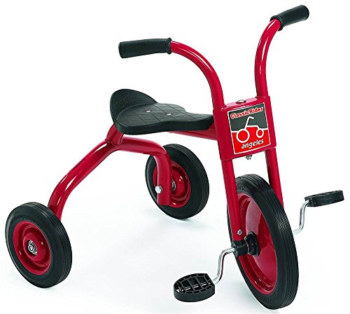 12 in. Trike in Red and Black Set of 2