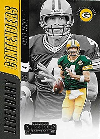 2018 Panini Contenders Legendary Contenders  LC-BF Brett Favre Green Bay  Packers NFL Football 721254196