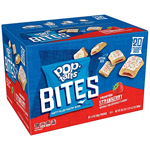 (Pop-Tarts Bites, Frosted Strawberry, (28.2 oz, 20 ct.))