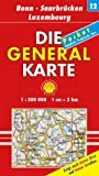 Die Generalkarten Deutschland Pocket, 20 Bl., Bl.1