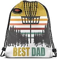 Drawstring Bag Dry Wet Backpack Waterproof Tote Pool Beach Travel Gym Bags Disc Golf Best Dad