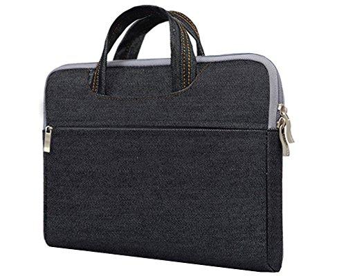 Funda Protectora para Portatil Impermeable Maletín para MacBook / Notebook Negro