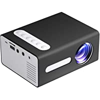 LCD Portable Mini Projector Video Projector T300 Supports 1080P for Kids Children Present, Home TV Movie, Party Game…