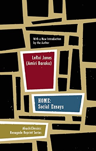 home social essays renegade reprint series leroi jones amiri  home social essays renegade reprint series leroi jones amiri baraka 9781933354675 com books