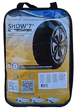 Show 7/S82 Fundas de tela para la nieve