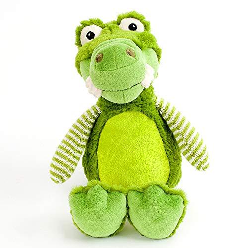 Plush Baby Alligator - MON AMI Super Soft Plush Cuddly Alligator Toy, Kid's Rooms, Nursery or Everyday Play, Green, 14