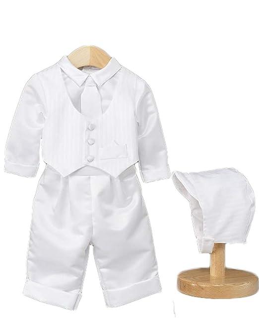 Amazon.com: Faithclover - Conjunto de traje de bautizo para ...