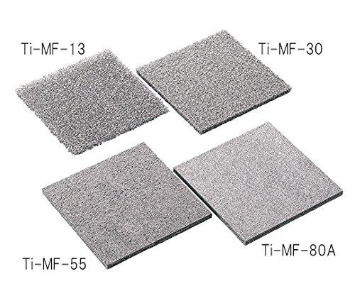 3-5507-11金属多孔質体(チタン)100×100mm厚さ10mm気孔径1.02mm B07BDQYSCQ
