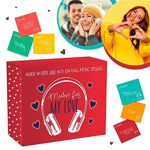 The Best Gratitude Card for Boyfriend and Girlfriend | Love and Friendship Letters  | Musical Teenage Scrapbook for Girls and Boys | Music Cards for Couples | Long Distance Relationships
