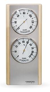 Tyl/ö Saunazubeh/örserie Blonde Thermometer//Hygrometer