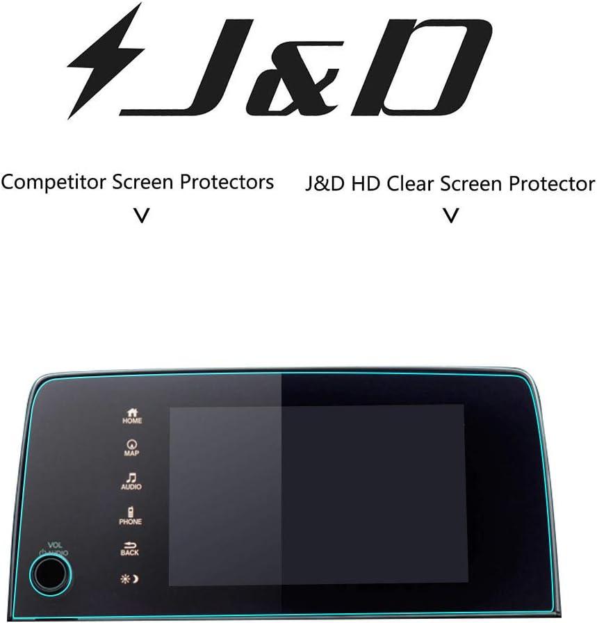 J/&D Compatible for Honda CR-V 2017 2018 2019 2020 Car Navigation Screen Protector 1-Pack HD Clear Film Honda CR-V 2017 2018 2019 2020 Crystal Clear Screen Protector for EX EX-L Touring