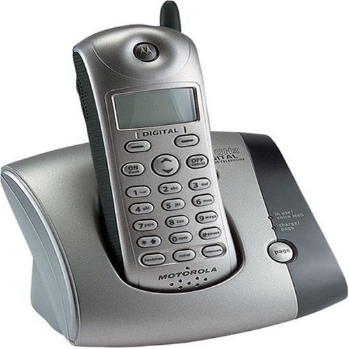 Motorola MD451sys 2.4 GHz Digital Expandable Cordless Phone with Caller ID - Phone Ghz Id Caller Cordless
