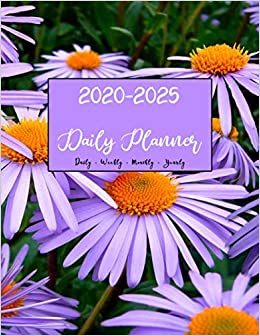 2020 -2025 Planner: 72 Month Personal Calendar Planners ...