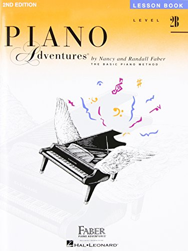 Level 2B - Lesson Book: Piano Adventures