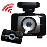 "(A Type, 16GB+8GB) LUKAS LK-9370 WD 2CH Full HD WiFi Blackbox Dashcam Vehicle Dash Video Camera Touch LCD 3.5"" with UV Filter"