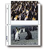 """Archival Photo Pages Holds Four 5 x 7"""" Prints, Pack of 25"""