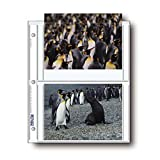 "Archival Photo Pages Holds Four 5 x 7"" Prints, Pack of 25"
